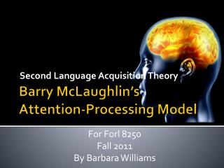 Barry McLaughlin's Attention-Processing Model