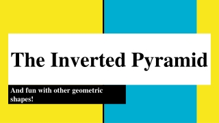 Inverted Pyramid  Style