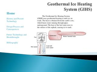 Geothermal Ice Heating System (GIHS)