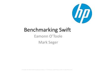 Benchmarking Swift