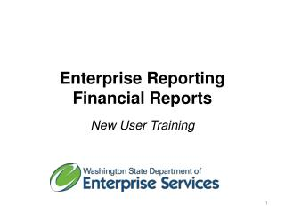 Enterprise Reporting Financial Reports