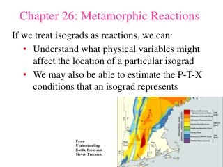 Chapter 26: Metamorphic Reactions