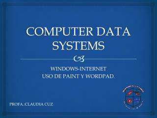 COMPUTER DATA SYSTEMS