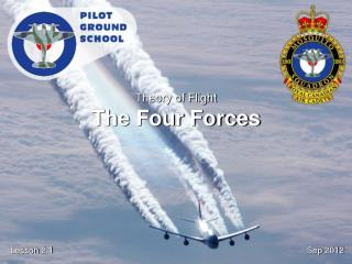 Theory of Flight The Four Forces