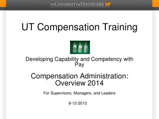 UT Compensation Training