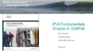 IPv6 Fundamentals Chapter  5 : ICMPv6