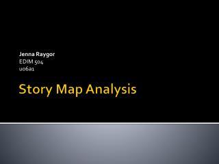 Story Map Analysis