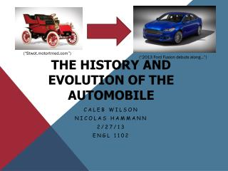 The History and Evolution of the Automobile