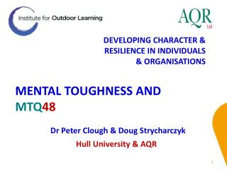 MENTAL TOUGHNESS AND  MTQ 48