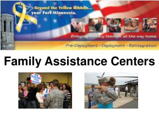 Family Assistance Centers