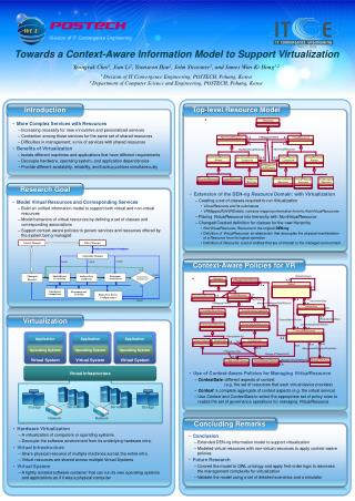 Towards a Context-Aware Information Model to Support Virtualization