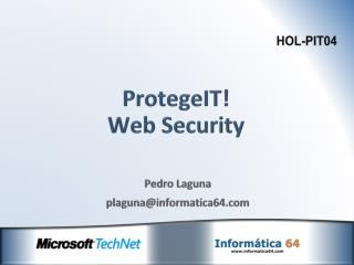 ProtegeIT! Web Security