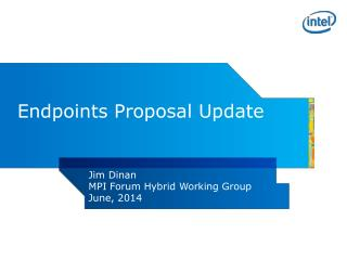 Endpoints Proposal Update