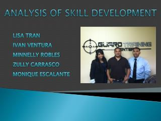 Analysis of Skill Development