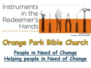 People in Need of Change  Helping people in Need of Change