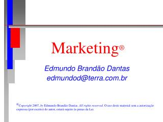 Marketing ®
