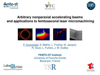 Arbitrary nonparaxial accelerating  beams and applications to femtosecond laser micromachining