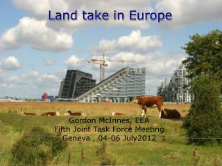 Land take  in  Europe