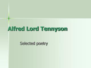an analysis of in memoriam by lord alfred tennyson