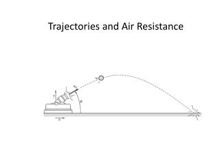 Trajectories and Air Resistance