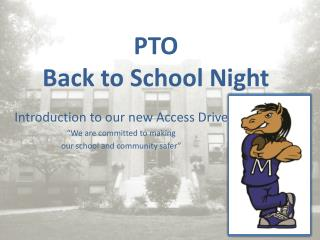 PTO  Back to School Night