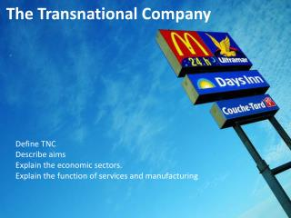The Transnational Company