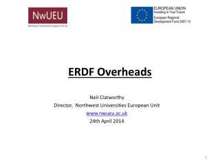 ERDF Overheads