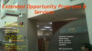 Extended Opportunity Programs & Services