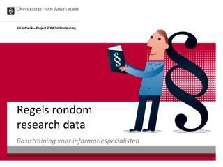 Regels rondom research data