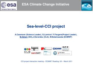 ESA Climate Change Initiative
