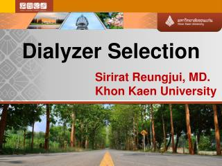 Dialyzer Selection