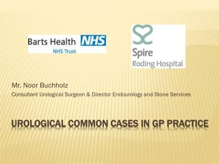 Urological common cases in GP practice