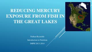 Reducing Mercury exposure from Fish in the Great Lakes