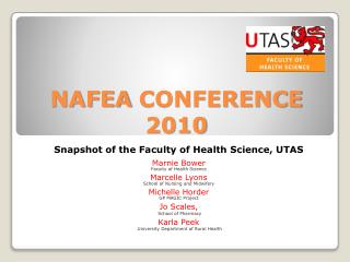 NAFEA CONFERENCE 2010