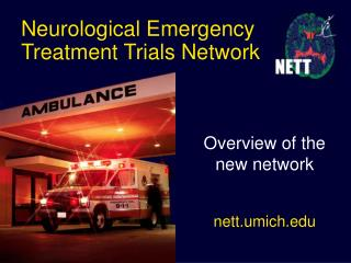 Neurological Emergency Treatment Trials Network