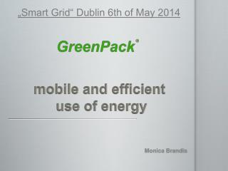mobile and  efficient use  of  energy