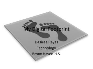My  Digital Footprint