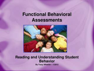 Functional Behavioral Assessments