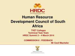 Human Resource  Development Council of South Africa