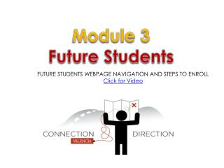 Module  3 Future Students