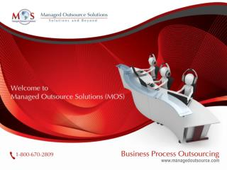 Cost-effective Business Process Outsourcing Solutions at MOS
