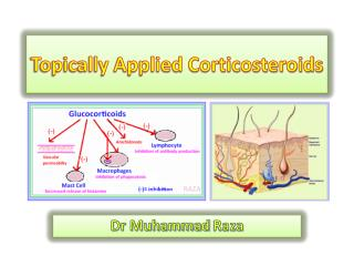 Topically Applied Corticosteroids
