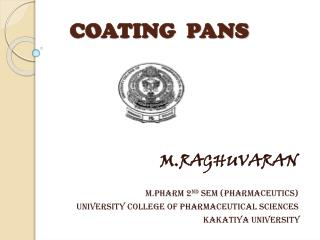 COATING  PANS