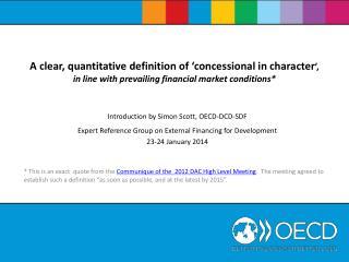 Introduction by Simon Scott, OECD-DCD-SDF