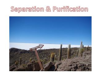 Separation & Purification