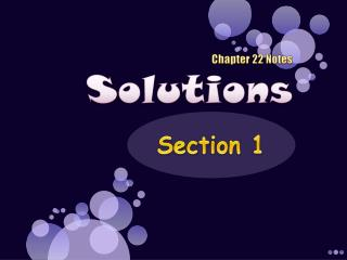 Chapter 22 Notes Solutions