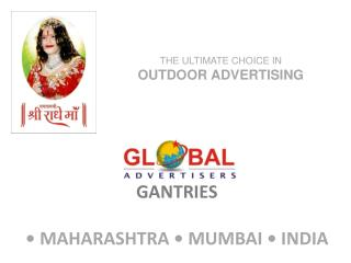 Outdoor advertising in Mumbai