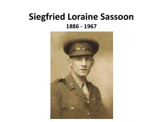 siegfried sassoon suicide in the The war poems has 1,958 a soldier's declaration, explains why siegfried sassoon is a and i enjoyed them in particular, i enjoyed 'suicide in.