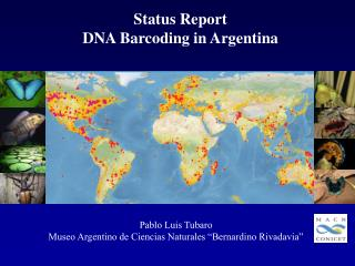 Status  Report DNA  Barcoding in  Argentina