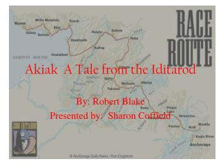 Akiak  A Tale from the Iditarod